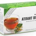 Стоит ли пить Атлант чай при наличии паразитов?