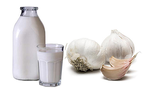 Чесночно молочная клизма от глистов